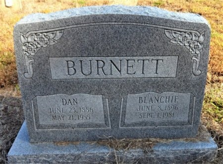 BURNETT, BLANCHIE - Ashley County, Arkansas | BLANCHIE BURNETT - Arkansas Gravestone Photos