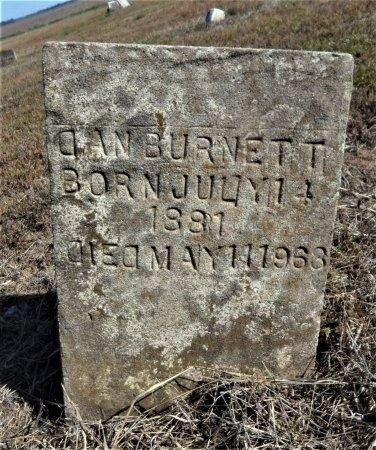 BURNETT, DAN - Ashley County, Arkansas | DAN BURNETT - Arkansas Gravestone Photos