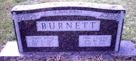 BURNETT, JOHNNIE VICTOR - Ashley County, Arkansas | JOHNNIE VICTOR BURNETT - Arkansas Gravestone Photos