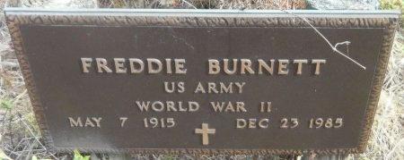 BURNETT (VETERAN WWII), FREDDIE - Ashley County, Arkansas | FREDDIE BURNETT (VETERAN WWII) - Arkansas Gravestone Photos