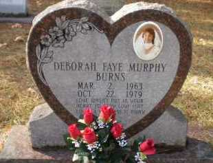 BURNS, DEBORAH FAYE - Ashley County, Arkansas | DEBORAH FAYE BURNS - Arkansas Gravestone Photos