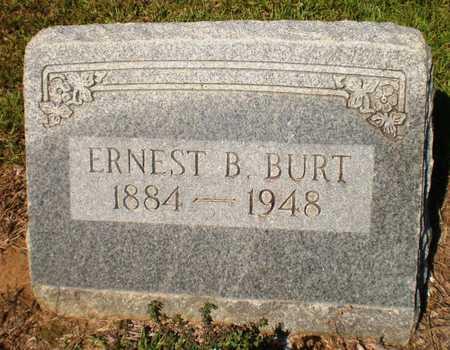 BURT, ERNEST B - Ashley County, Arkansas   ERNEST B BURT - Arkansas Gravestone Photos