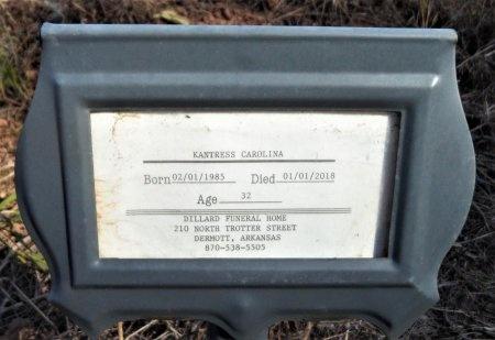 "CAROLINA OWENS, KANTRESS LADON ""CANDY"" - Ashley County, Arkansas | KANTRESS LADON ""CANDY"" CAROLINA OWENS - Arkansas Gravestone Photos"