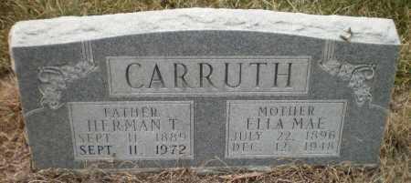 CARRUTH, ELLA MAE - Ashley County, Arkansas   ELLA MAE CARRUTH - Arkansas Gravestone Photos