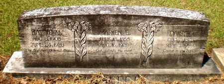 CARTER, MARIEN E - Ashley County, Arkansas | MARIEN E CARTER - Arkansas Gravestone Photos