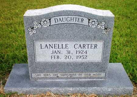 CARTER, LANELLE - Ashley County, Arkansas | LANELLE CARTER - Arkansas Gravestone Photos