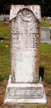 CARTER, N V - Ashley County, Arkansas | N V CARTER - Arkansas Gravestone Photos
