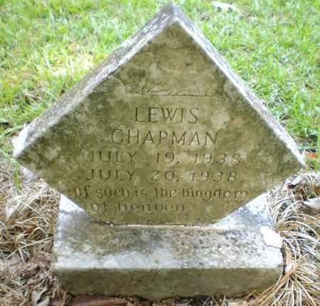 CHAPMAN, LEWIS - Ashley County, Arkansas | LEWIS CHAPMAN - Arkansas Gravestone Photos