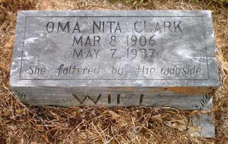 DEAN CLARK, OMA NITA - Ashley County, Arkansas | OMA NITA DEAN CLARK - Arkansas Gravestone Photos