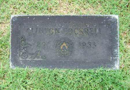 COCKRELL, CLINTON - Ashley County, Arkansas   CLINTON COCKRELL - Arkansas Gravestone Photos