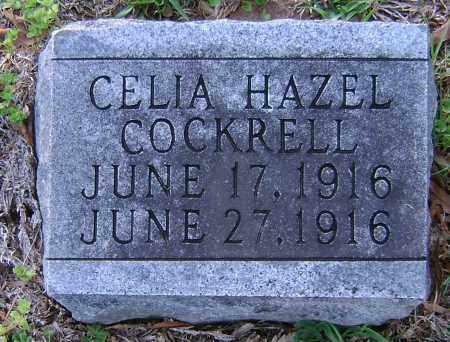 COCKRELL, CELIA HAZEL - Ashley County, Arkansas | CELIA HAZEL COCKRELL - Arkansas Gravestone Photos