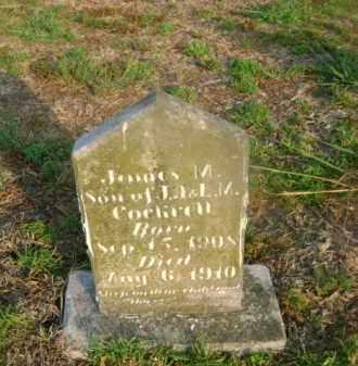 COCKRELL, JAMES M - Ashley County, Arkansas | JAMES M COCKRELL - Arkansas Gravestone Photos