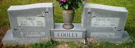 DOSS COOLEY, CHLOE - Ashley County, Arkansas | CHLOE DOSS COOLEY - Arkansas Gravestone Photos