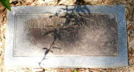 COPELAND, WILLIE LOYD - Ashley County, Arkansas | WILLIE LOYD COPELAND - Arkansas Gravestone Photos