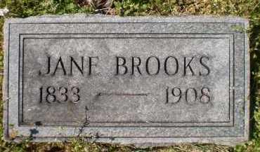 BROOKS, JANE - Ashley County, Arkansas   JANE BROOKS - Arkansas Gravestone Photos