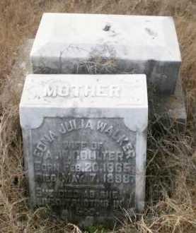 WALKER COULTER, EDNA JULIA - Ashley County, Arkansas | EDNA JULIA WALKER COULTER - Arkansas Gravestone Photos