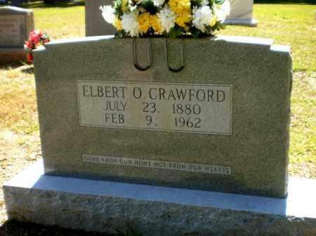 CRAWFORD, ELBERT O - Ashley County, Arkansas   ELBERT O CRAWFORD - Arkansas Gravestone Photos