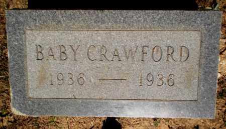 CRAWFORD, BABY - Ashley County, Arkansas | BABY CRAWFORD - Arkansas Gravestone Photos