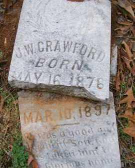 CRAWFORD, J W - Ashley County, Arkansas | J W CRAWFORD - Arkansas Gravestone Photos