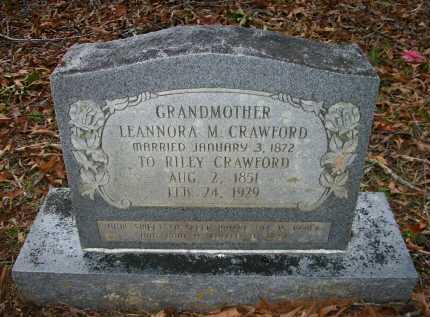CRAWFORD, LEANNORA M - Ashley County, Arkansas | LEANNORA M CRAWFORD - Arkansas Gravestone Photos