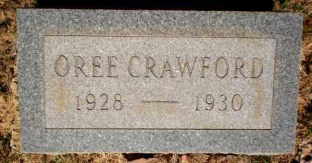 CRAWFORD, OREE - Ashley County, Arkansas   OREE CRAWFORD - Arkansas Gravestone Photos
