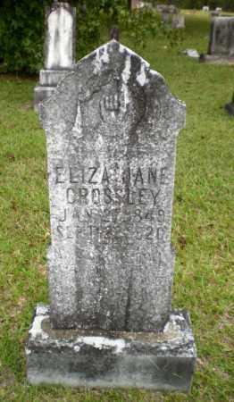 CROSSLEY, ELIZA JANE - Ashley County, Arkansas | ELIZA JANE CROSSLEY - Arkansas Gravestone Photos