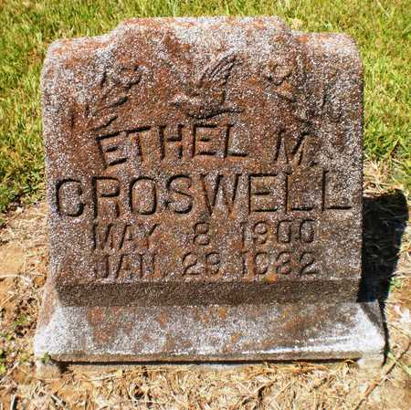 CROSWELL, ETHEL M - Ashley County, Arkansas | ETHEL M CROSWELL - Arkansas Gravestone Photos