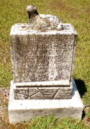 CROSWELL, EDWARD TRESWELL - Ashley County, Arkansas | EDWARD TRESWELL CROSWELL - Arkansas Gravestone Photos