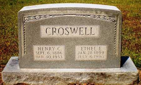 CROSWELL, ETHEL E - Ashley County, Arkansas | ETHEL E CROSWELL - Arkansas Gravestone Photos