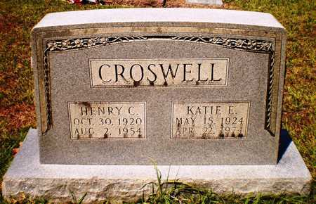 CROSWELL, HENRY C - Ashley County, Arkansas   HENRY C CROSWELL - Arkansas Gravestone Photos