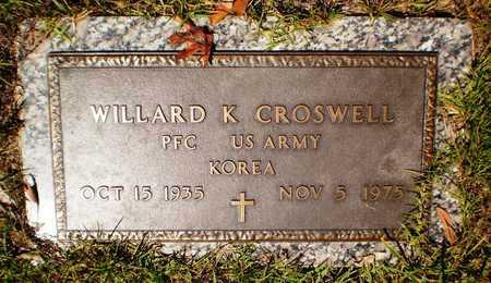 CROSWELL (VETERAN KOR), WILLARD K - Ashley County, Arkansas   WILLARD K CROSWELL (VETERAN KOR) - Arkansas Gravestone Photos