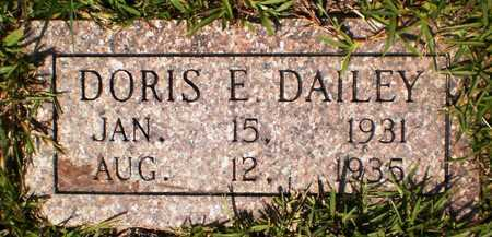 DAILEY, DORIS E - Ashley County, Arkansas | DORIS E DAILEY - Arkansas Gravestone Photos