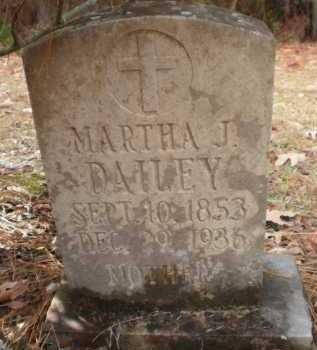 CARROLL DAILEY, MARTHA J - Ashley County, Arkansas | MARTHA J CARROLL DAILEY - Arkansas Gravestone Photos