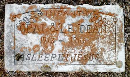 DEAN, OPAL - Ashley County, Arkansas | OPAL DEAN - Arkansas Gravestone Photos