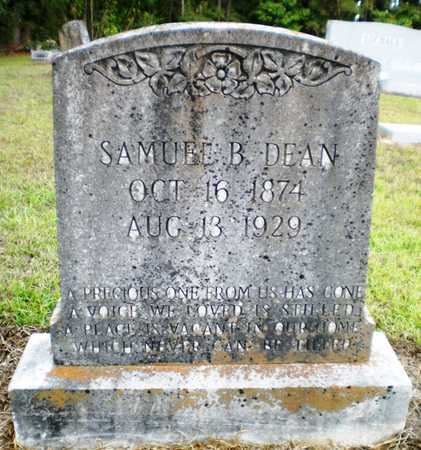 DEAN, SAMUEL B - Ashley County, Arkansas | SAMUEL B DEAN - Arkansas Gravestone Photos
