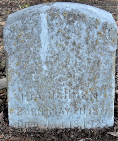 DERDEN, IDA - Ashley County, Arkansas | IDA DERDEN - Arkansas Gravestone Photos