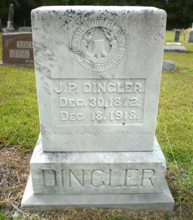 DINGLER, J P - Ashley County, Arkansas | J P DINGLER - Arkansas Gravestone Photos