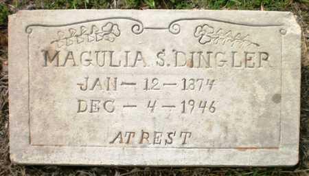 DINGLER, MAGULIA S - Ashley County, Arkansas | MAGULIA S DINGLER - Arkansas Gravestone Photos
