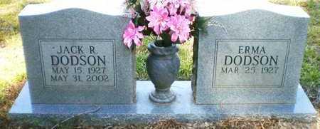 DODSON, JACK R - Ashley County, Arkansas | JACK R DODSON - Arkansas Gravestone Photos