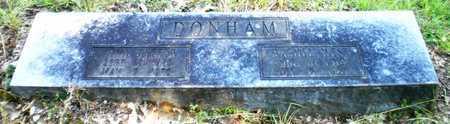 DONHAM, JOHN LESTER - Ashley County, Arkansas | JOHN LESTER DONHAM - Arkansas Gravestone Photos