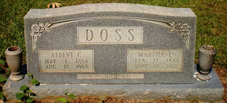 DOSS, MARTHA L - Ashley County, Arkansas | MARTHA L DOSS - Arkansas Gravestone Photos
