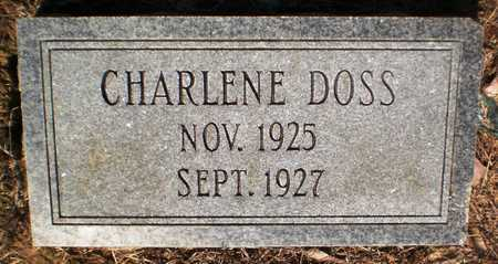 DOSS, CHARLENE - Ashley County, Arkansas | CHARLENE DOSS - Arkansas Gravestone Photos