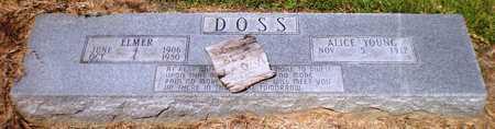 DOSS, ALICE MARIE - Ashley County, Arkansas | ALICE MARIE DOSS - Arkansas Gravestone Photos