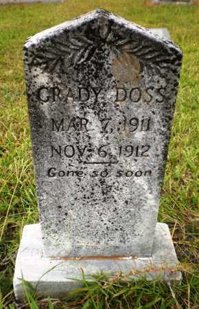 DOSS, GRADY - Ashley County, Arkansas | GRADY DOSS - Arkansas Gravestone Photos