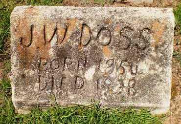 DOSS, J W - Ashley County, Arkansas | J W DOSS - Arkansas Gravestone Photos