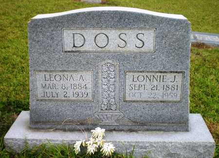 DOSS, LEONA A - Ashley County, Arkansas | LEONA A DOSS - Arkansas Gravestone Photos