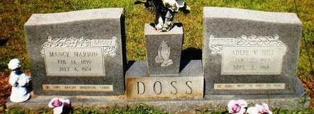 DOSS, MANCY MARION - Ashley County, Arkansas | MANCY MARION DOSS - Arkansas Gravestone Photos