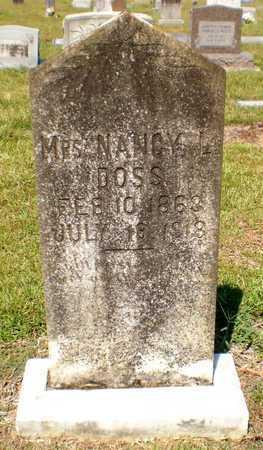 DOSS, NANCY L, MRS - Ashley County, Arkansas | NANCY L, MRS DOSS - Arkansas Gravestone Photos