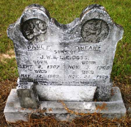 DOSS, INFANT SON - Ashley County, Arkansas | INFANT SON DOSS - Arkansas Gravestone Photos