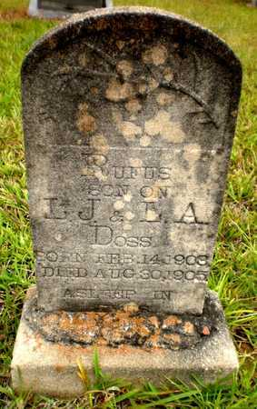 DOSS, RUFUS - Ashley County, Arkansas   RUFUS DOSS - Arkansas Gravestone Photos